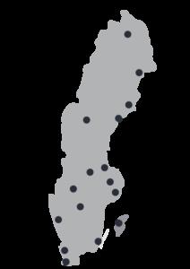 Brandskyddsbesiktningar Stockholm, Malmö och Göteborg samt lokalt i hela landet.